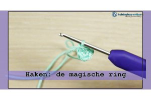 De magische cirkel haken (magic loop)