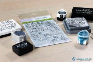 Stempelen met clear stamps