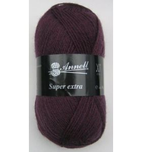 Annell Super Extra Uni 2002 donkerpaars