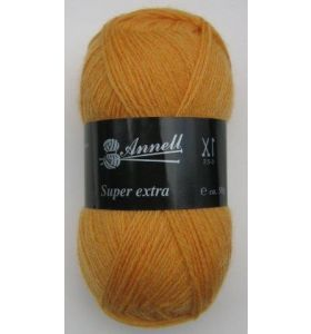 Annell Super Extra Uni 2015 warm donkergeel