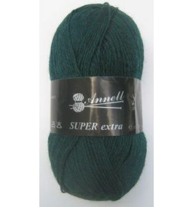 Annell Super Extra Uni 2045 donkergroen