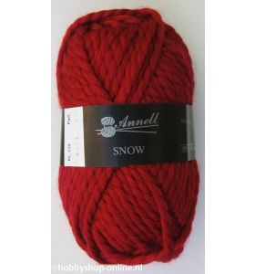Annell Snow 3913 donkerrood
