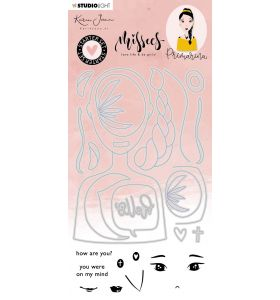 Clear stamps & Die cut - Karin Joan Missees collection nr. 06