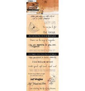 Chipboard elements - Just Lou butterfly collection nr. 08