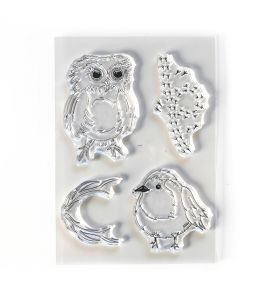 ECD Clear stamps - Bird song