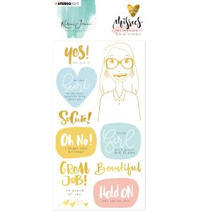 Rub on stickers - Karin Joan Missees collection nr. 03