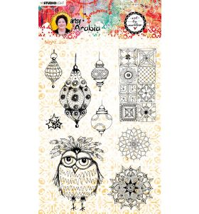 Clear stamp A5 - Art by Marlene Artsy Arabia nr. 59