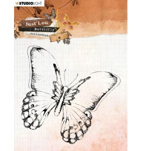 Clear stamp - Just Lou butterfly collection nr. 14