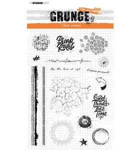 Clear stamps A5 Grunge collection 5.0 nr. 502