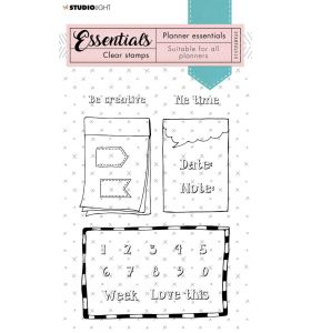 Clear stamps A6 - planner essentials nr. 510