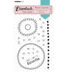 Clear stamps A6 - planner essentials nr. 511