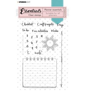 Clear stamps A6 - planner essentials nr. 512