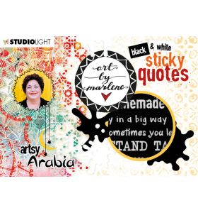 Quote stickers - Art by Marlene Artsy Arabia nr. 03
