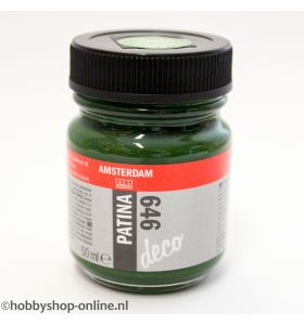 Amsterdam deco Patina 646 antiekgroen 50 ml