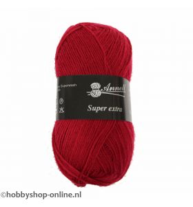 Annell Super Extra Uni 2013 rood