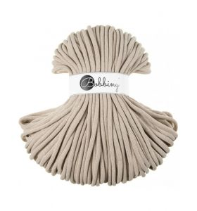 Bobbiny junior 3 mm - beige