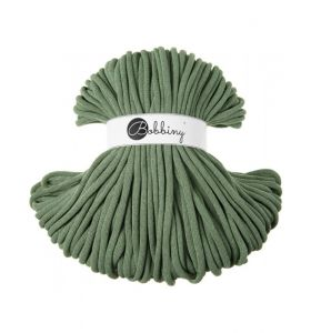 Bobbiny junior 3 mm - eucalyptus green