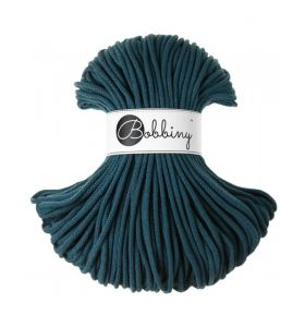 Bobbiny junior 3 mm - peacock blue