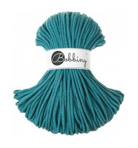 Bobbiny junior 3 mm - teal