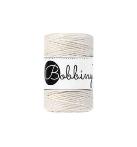 Bobbiny macrame koord 1,5 mm - natural