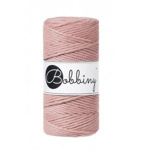 Bobbiny macrame koord 3 mm - blush