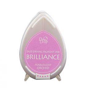 Brilliance dew drop ink pad pearlescent orchid