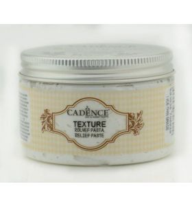 Cadence texture relief paste white 150 ml
