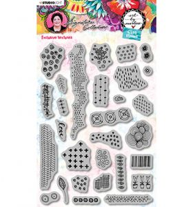 Cling stamp set A5 - Art by Marlene 5.0 nr. 47