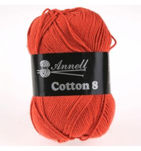 Annell Cotton 8 - 03 donkeroranje