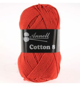Annell Cotton 8 - 04 oranjerood