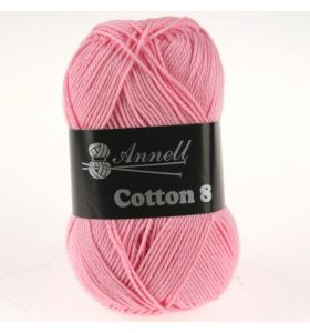 Annell Cotton 8 - 32 rose