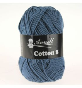 Annell Cotton 8 - 37 jeansblauw