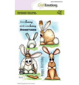 Clearstamps A6 - Bunny 1 Carla Creaties