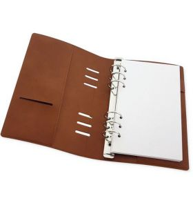 CraftEmotions planner 120 x 210 mm - Cognac