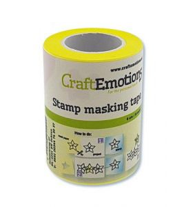 CraftEmotions stempel maskeer tape 10 m x 6 cm