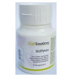 CraftEmotions Stiffytex transparant 500 ml