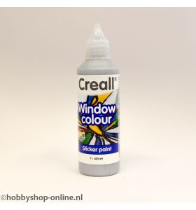 Creall windowcolor 71 zilver 80 ml