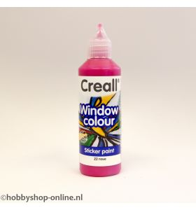 Creall windowcolor 22 rose 80ml
