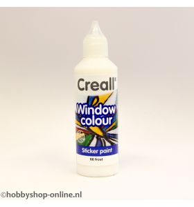 Creall windowcolor 66 frosted 80ml