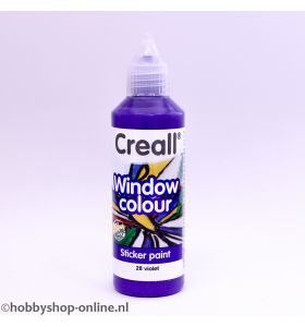 Creall windowcolor 28 violet 80ml