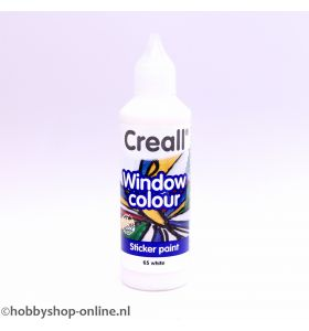Creall windowcolor 65 wit 80ml