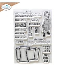 ECD Clear stamps - Noteworthy