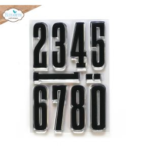 ECD Clear stamps - Long & tall numbers