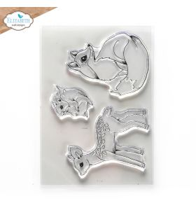ECD Clear stamps - Woodland critters