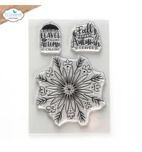 ECD Clear stamps - Autumn leaves