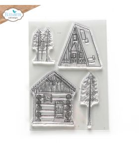 ECD Clear stamps - Cabin love