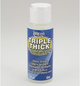 DecoArt Triple thick gloss glaze 59 ml