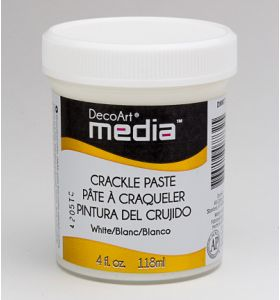 DecoArt crackle paste white 118 ml