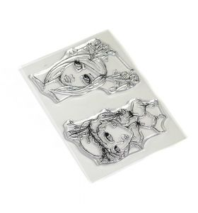 ECD Clear stamps - Earthy girls