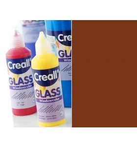 Creall windowcolor 58 donkerbruin 80ml
